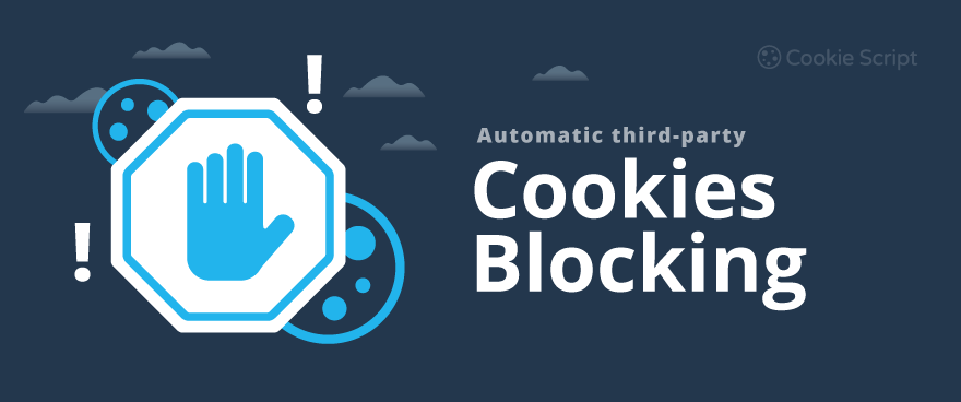 Automatic third-party cookies blocking