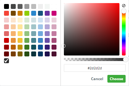 custom colors picker